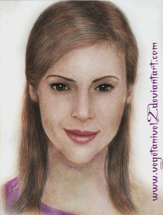 Alyssa Milano by Jap
